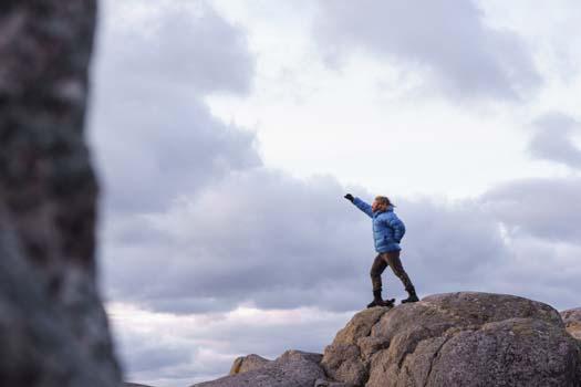 Mobilfoto på Island