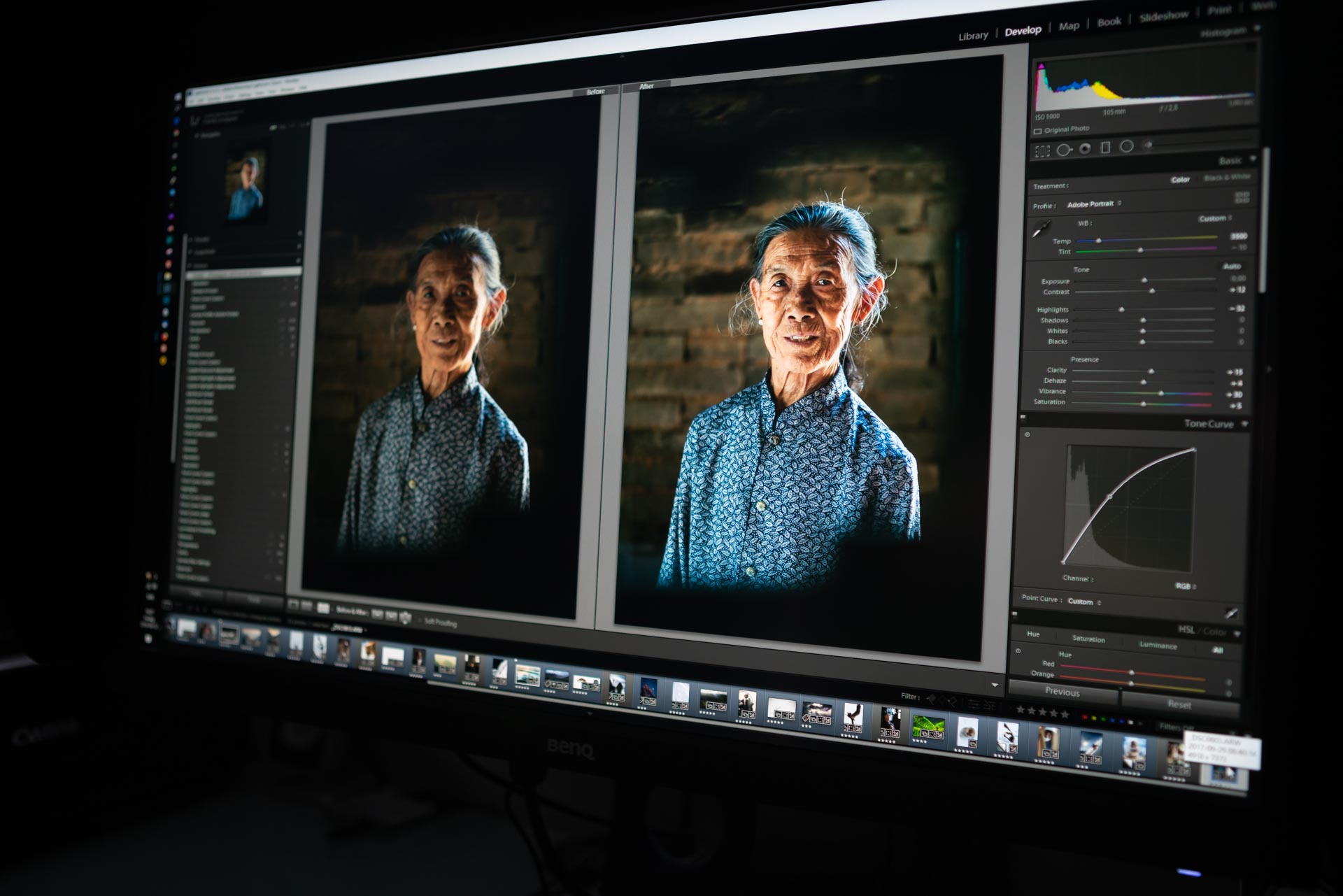 Lightroom bildbehandling fotokurs