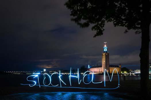 Nattfoto Malmö