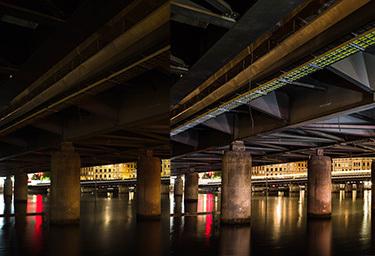 Fotokurs nattfotografering måla med ljus
