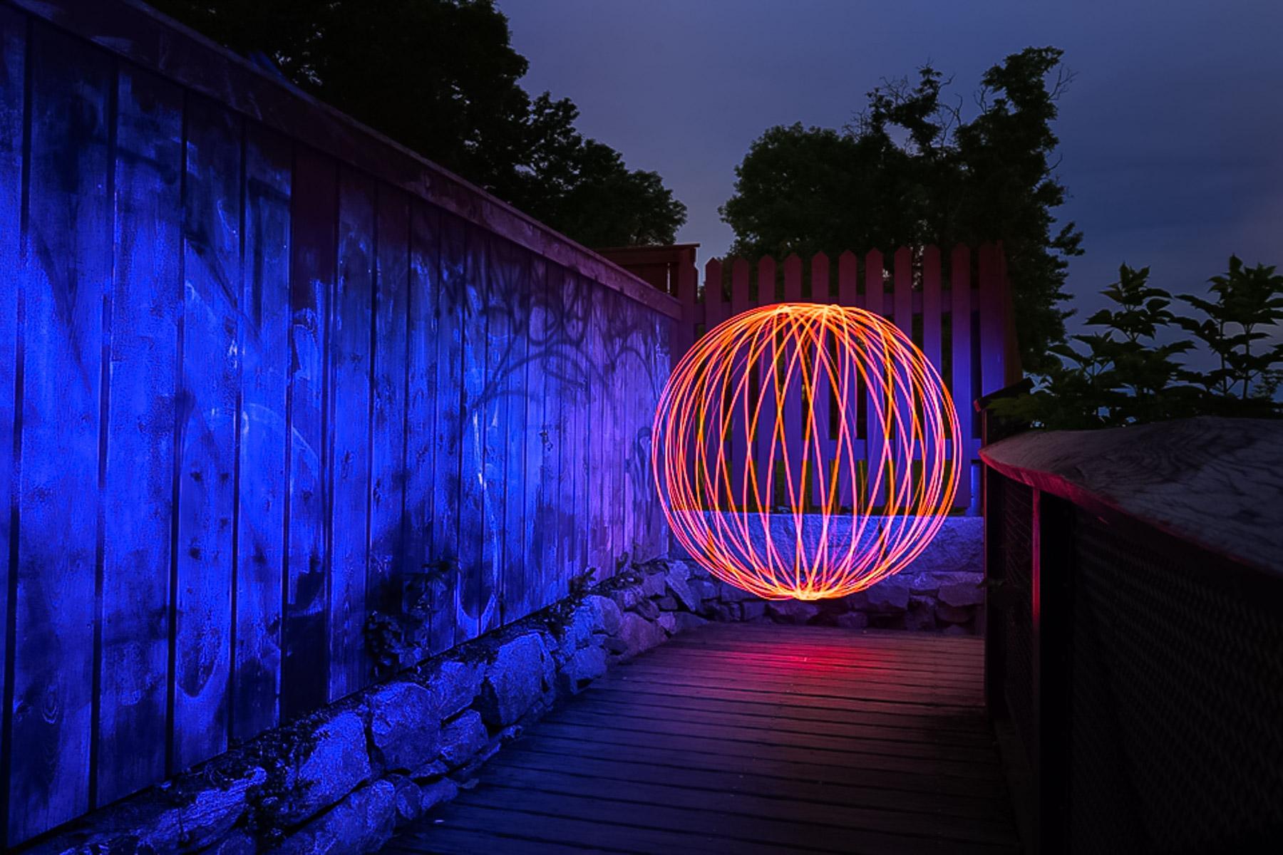 Fotokurs nattfotografering orb