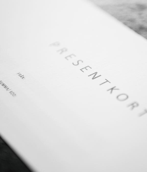 Presentkort - fotokurs